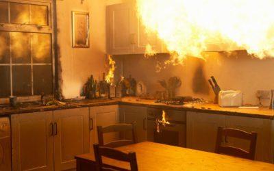 Incendios en cocinas