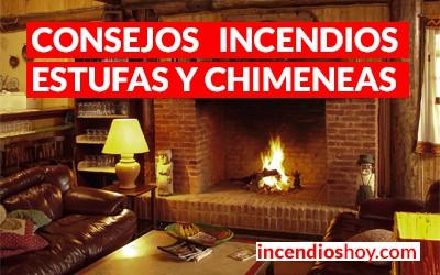 Consejos de prevención de incendios con estufas y calefactores