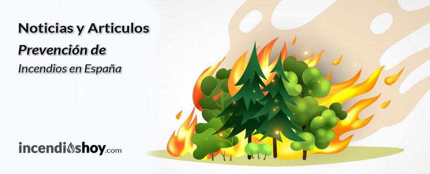 Incendios España. Noticias sobre incendios en España clasificadas. 1