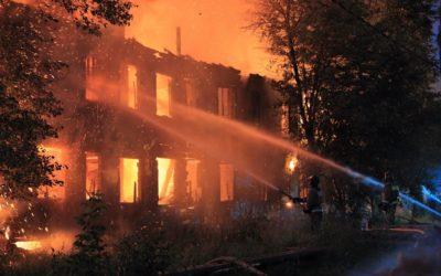 Incendio en un hospital de Río de Janeiro (Brasil) obliga la evacuación de enfermos