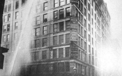 El incendio de mujeres obreras de Nueva York